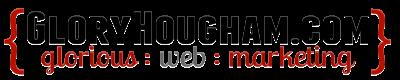 Glory Hougham [dot] com logo
